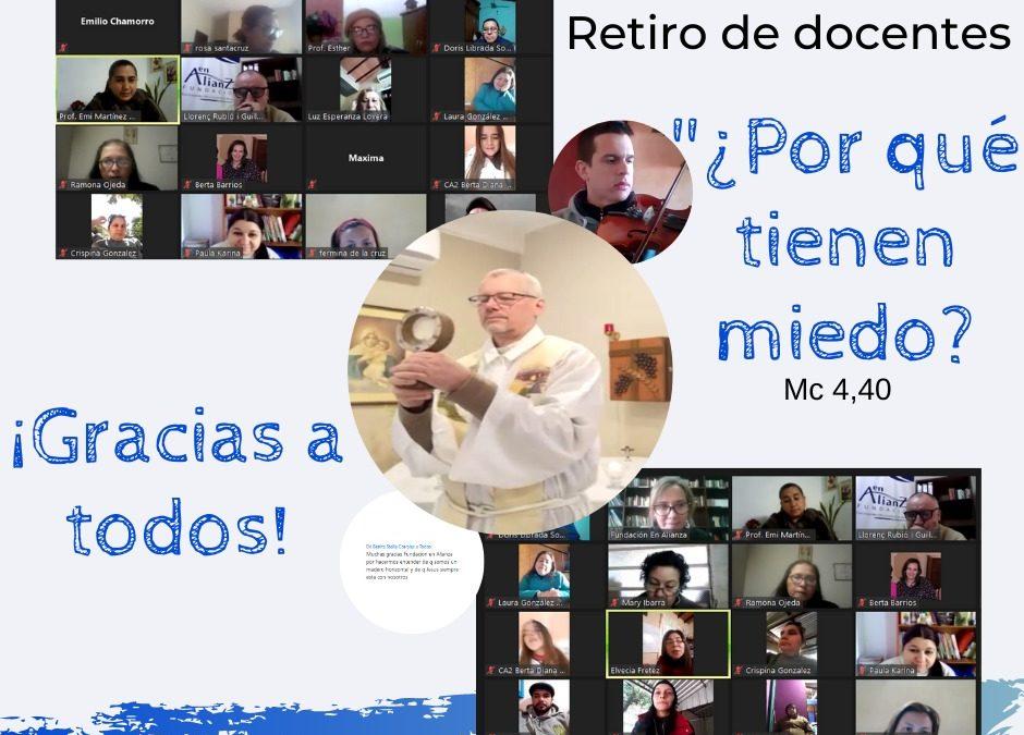Retiro virtual de docentes